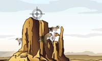 Jagen in der Wüste