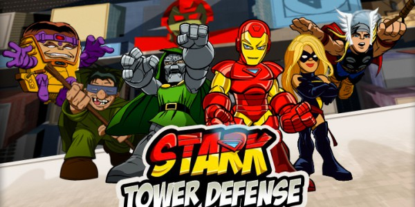 Stark Tower Defense