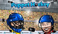 Puppen Eis Hockey
